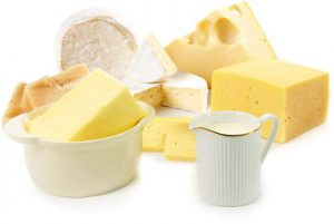 Dieta Chetogenica - Latticini ricchi di grassi