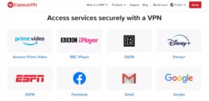 ExpressVPN - platforme